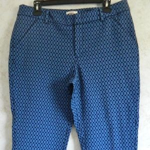 Merona Classic Women's Cropped Ankle Pants Size 12